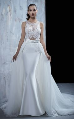 Courtesy of Maison Signore Wedding Dresses Seduction Collection;maisonsigno… Courtesy of Maison Signore Wedding Dresses Seduction Collection;it/en-US 2 In 1 Wedding Dress, Wedding Dresses 2018, Bridal Dresses, Bridesmaid Dresses, Bridal Dress Design, Popular Dresses, Marie, Ball Gowns, Lace Dress