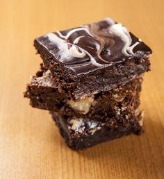 Brownie do Villa Grano: receita pode levar nozes, castanha de cajú ou do pará (Foto: Divulgação)