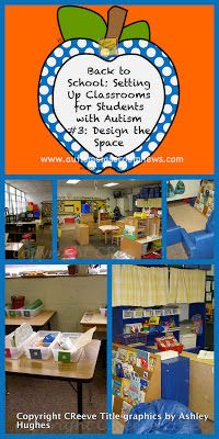 Back to School: Setting up Classrooms for Students with Autism #3-Design the…