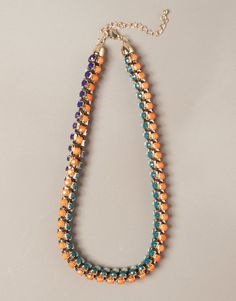 SMALL STONE NECKLACE - NEW PRODUCTS - WOMAN - United Kingdom