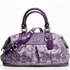 i soooo want this purse!!!!!!Coach 3 Color Signature Large