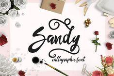 Sandy Font from DesignBundles.net