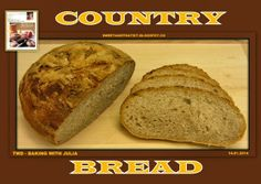 Sweet and That's it: Country Bread - Pane Paesano Baking With Julia, Country Bread, Savory Pastry, Your Recipe, Banana Bread, Food And Drink, Yummy Food, Homemade, Sweet