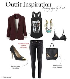 Outfit Inspiration- Rocker Chic