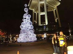 SPACE NEEDLE Christmas Tree