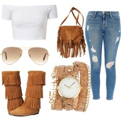 Featuring fashion style Frame Denim Minnetonka American Eagle Outfitters ZALORA Ray-Ban