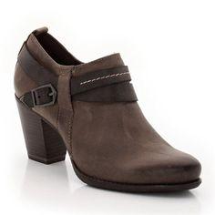 ac2af5f4b4f98 Low boots à talon cuir TAMARIS Achat Chaussures, Talons, Mode Femme, Cuir