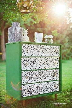 Check out this item in my Etsy shop https://www.etsy.com/listing/237899987/kate-spade-inspired-dresser-emerald