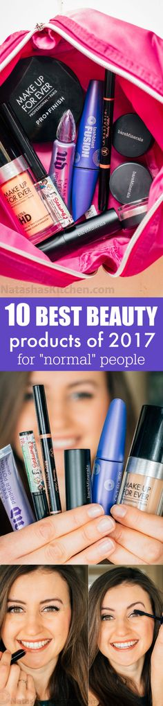 "10 Best Makeup Products for ""Normal People"" + Sephora Double Giveaway! Two $100 Gift Cards to Sephora (2 winners)"