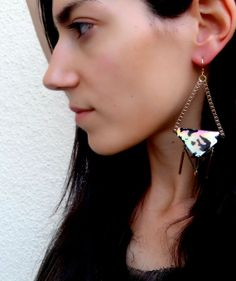 Ophelia earrings from ''Tenebris'' collection handmade by BlameEve, €27.00