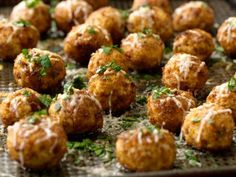 Chicken Meatballs using chicken breast. Replace: Breadcrumbs - pulverized oatmeal; bacon - turkey bacon / turkey ham. Good for freezing.