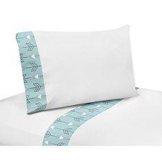 Sweet Jojo Designs Earth and Sky Collection Queen Sheet Set by Sweet Jojo Designs
