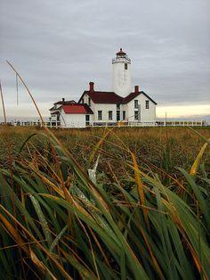 New Dungeness Lighthouse Washington