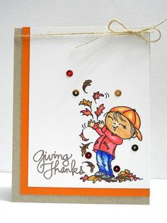 Giving Thanks by Jingle - Cards and Paper Crafts at Splitcoaststampers