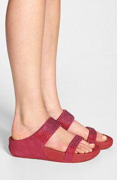 fitflop flare slide sandal