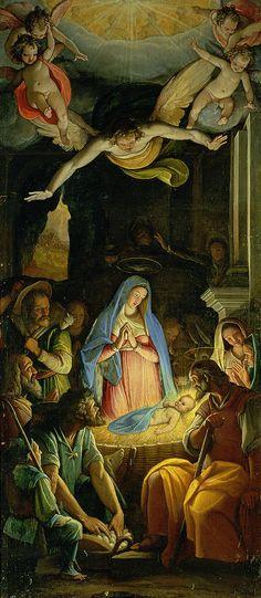 The Adoration of the Shepherds - Federico Zuccaro.