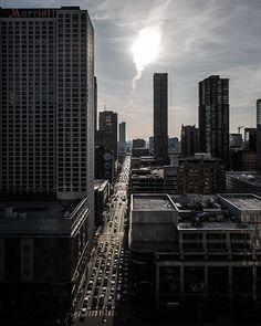 Rush Hour  #Chicago #Rooftop #CityCanyons #CityStreets #City #CityLife #Urban #UrbanExplorer #Urbex #ChicagoIllinois #Illinois #ChasingRooftops #ArtOfChi #ChicagoPrimeShots #ChicagoGram #Insta_Chicago #IGersChicago #NBCChicago  #chasing_rooftops by kallyone
