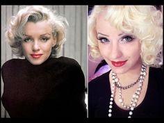 Marilyn Monroe make up