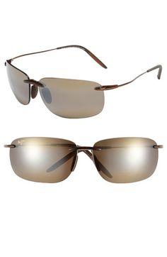 e24d11fd87 Maui Jim  Olowalu  65mm Rimless Sunglasses Maui Jim Sunglasses