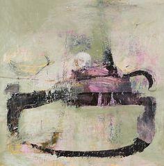 Philippe Croq, Untitled, mixed media, paper on wood, 125 x 122 cm