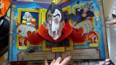 Mon livre pop-up : Le manoir hanté - Editions Usborne - Halloween - livre jeunesse - enfants - kids - book - children - pop up - vampire - monstres - manoir - fantômes