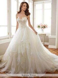 Sophia Tolli Bridal Gowns Sophia Tolli Bridal Y11716 Tropez Sophia Tolli  Bridal For Mon Cheri