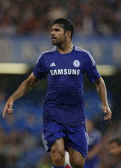 Diego Costa - Chelsea v Real Sociedad, 12th August 2014