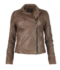 Allsaints Spitafields 'Marsden' leather jacket