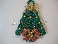 House Craft: Arvore de Natal em Tecido e Crochê