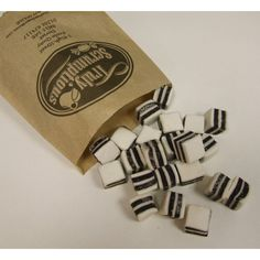 Liquorice Mint Sweets
