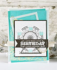 Stampin' Cards and Memories: Carousel Birthday
