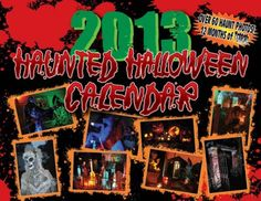Win a Haunted Halloween Calendar from Hector Turner. http://scaryvisions.com/haunted-halloween-calendar