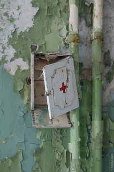Red Cross - Dinky has worked in some hospitals that have no Band-Aids !!