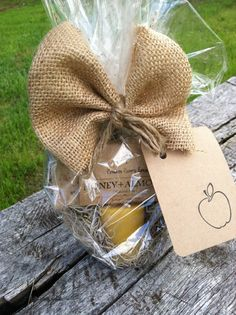 Perfect Teachers gift- free gift wrap- natural soap and beeswax natural candle-Teacher appreciation on Etsy, $10.00