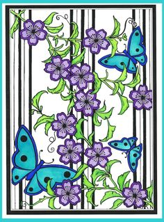 Brandy Hill (18+ division) from Japanese Stencil Designs Stained Glass Coloring Book: http://store.doverpublications.com/0486485048.html
