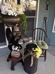 Front porch cream separator