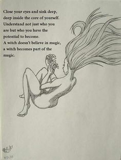 We become part of the magick