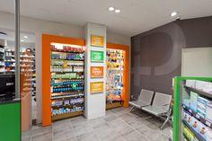 Pharmacy at SPAR by Lavanya Naidoo, via Behance Pharmacy Store, Medical Logo, Point Of Sale, Pop Design, Store Design, Locker Storage, Layout, Interior Design, South Africa