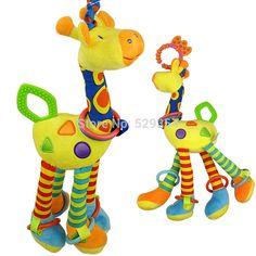 http://pt.aliexpress.com/item/-/1930753425.htmlmordedor bebê brinquedo elc bonito girafa carrinho de bebê brinquedos grande cama de suspensão pendurado com chocalhos bb soou papel