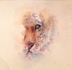 Tiger Watercolor - so us!