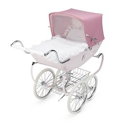 Silver Cross Doll Pram In Rose and Rocking Horses in Play - Baby Strollers Jogging - Ideas of Baby Strollers Jogging - Pram Toys, Dolls Prams, Happy Baby, Happy Kids, Silver Cross Prams, Bring Up A Child, Vintage Pram, Prams And Pushchairs, Umbrella Stroller