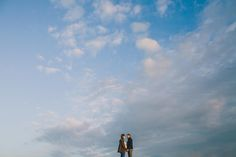 love this couple and this sky..