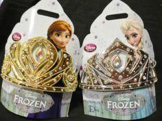 Anna Gold or Elsa Silver Jewel Tiara Frozen Costume NWT Disney Store 2013 | eBay