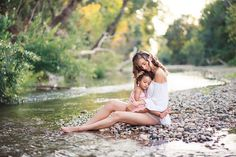 Mother & Daughter by Izabela Iliria Photography