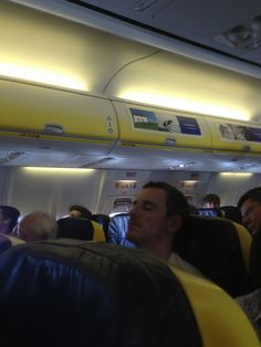 They would have had to remove me from the plane.... On the way to Spain, flying Ryanair  (via @richturner82)