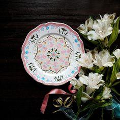 "Тарелка ""нежность"" в магазине «Louise Art» на Ламбада-маркете"