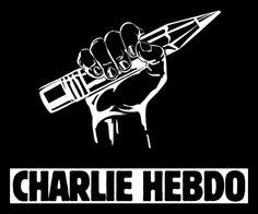 Le site d'information Clubic nous montre une image entièrement représentative des manifestations en soutien pour le journal de Charlie Hebdo. Le crayon dans cette main levée est un symbole de la liberté d'expression. Le crayon représente les équipes de Charlie Hebdo connues pour leurs célèbres caricatures.