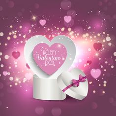 Buy Valentine's Gift Box Background by kjpargeter on GraphicRiver. Valentine's Day background with heart shaped gift box. Files included – ai (version ten and eps (version ten) a. Happy Valentines Day Wishes, Valentines Day Pictures, Valentines Day Cakes, Valentines Day Background, Valentines Day Gifts For Him, Stampin Up, Love Wallpapers Romantic, Valentine's Day Quotes, Pineapple Upside