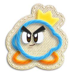 Prince Fluff - Kirby's epic yarn