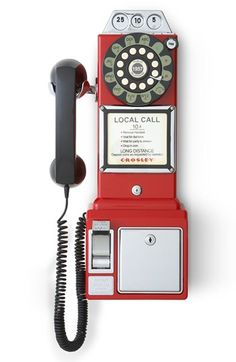 Crosley Radio 'Pay Phone'  Wall Phone available at #Nordstrom